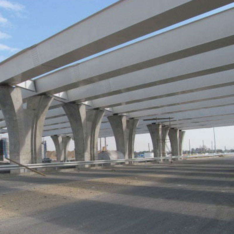 Construction and installation of metal structure of Saeed Abad non-level intersection of Azadegan freeway in Tehran